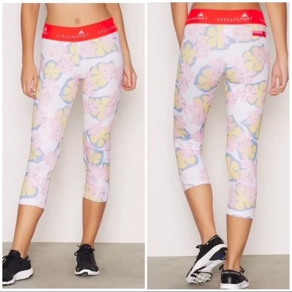 b6ddfbad930ee Adidas by Stella McCartney Pants | Adidas Stella Mccartney Floral ...